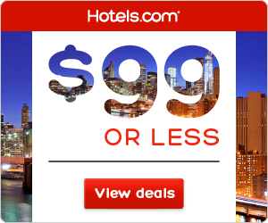 Hotels.com promo code: $99 or Less