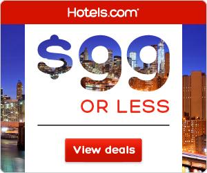 Hotels.com: $99 or Less