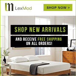 Image for Shop New Arrivals and receive Free Shipping on all orders at LexMod.com.  Shop now