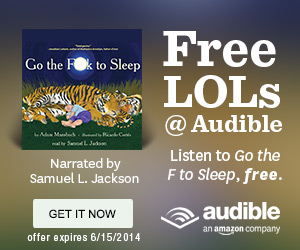 FREE LOLs at Audible...
