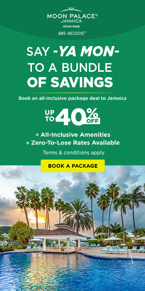 Vacation Packages at 2x1 Moon Palace Jamaica.