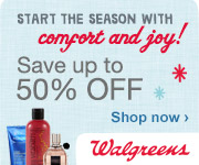 Save up to 50% at Walgreens