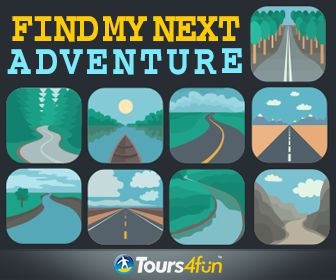 Take the road less traveled and choose from hundreds of destinations at Tours4Fun.com.