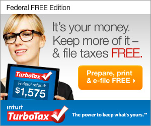 TurboTax - Do your Taxes for Free -  It's Easy
