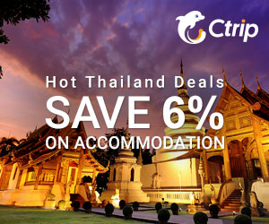 2017 Hot Thailand Deals! Save 6% on Accommodation