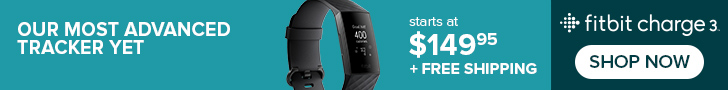 New! Fitbit Charge 3
