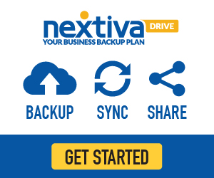 Nextiva Drive: Your Business Backup Plan.  Backup. Sync. Collaborate & Share your important business
