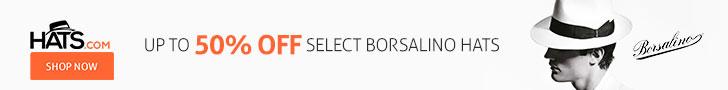 Save Up To 50% Off Borsalino
