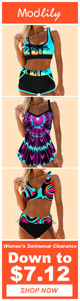 Clearance Swimwear for Women!
