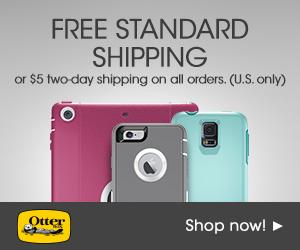 OtterBox.com: 300x250 Free Shipping