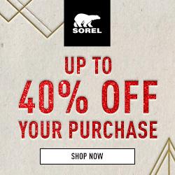 Shop now at SOREL.com!