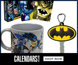 Shop Batman at Calendars.com Now!