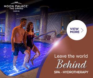The Grand at Moon Palace $1,500 Resort Credit.