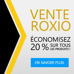 Code ROXIOSALE15: 15% de Réduction sur tous les produits Roxio