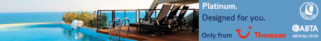 Thomson Platinum Resorts - 468x60