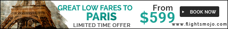 Great Fares to Paris at Flights Mojo