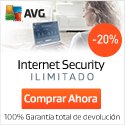AVG Internet Security - Nuestra mejor protección contra virus.