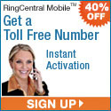 RingCentral Mobile - 40% Off First 3 Months