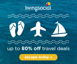 Living Social Travel Deals, Up to 80% Off!