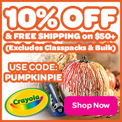 10% Off + Free Shipping on $50 with PUMPKINPIE