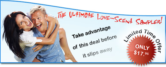 Get Sample Pheromone packets from Love-Scent.com