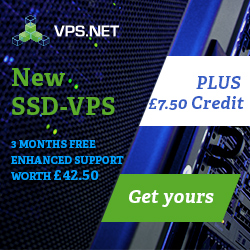 New BEST entry servers from VPS.net