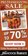 120x240 Pre-Thanksgiving Sale - Ends November 26th