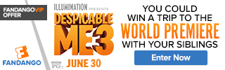Fandango - Despicable Me 3 FanAlert Sweepstakes
