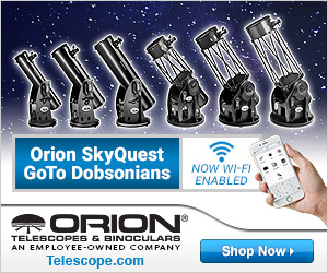 Orion WiFi Enabled DOB Telescopes