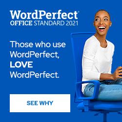 Corel WordPerfect Office Standard
