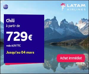 LATAM Airlines flights to Chile