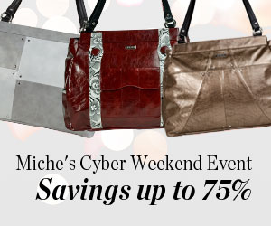 Miche's Cyber Weekend Event - Savings up to 75%