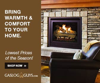 Great deals on gas log sets and accessories from GasLogGuys.com