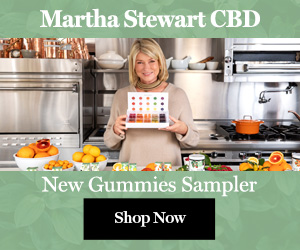 Martha Stewart CBD Gummies Sampler