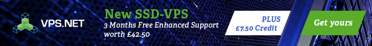 New BEST entry servers from VPS.net