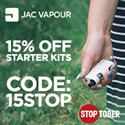 JAC Vapour Electronic Cigarettes and E-Liquids