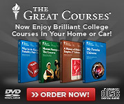 Save 70%! Now Enjoy Brilliant College Courses in Your Car or Home