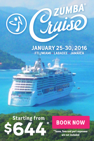 Zumba Cruise - 5 days, 2 islands, Unlimited Zumba Fun!