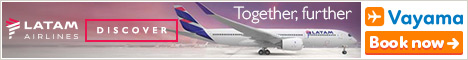 Vayama - LATAM Airlines: Flights to South America