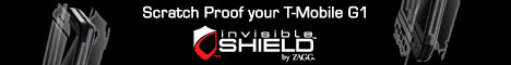 invisibleSHIELD for T-Mobile G1