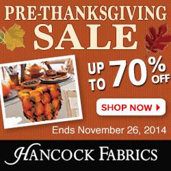 250x250 Pre-Thanksgiving Sale - Ends November 26th