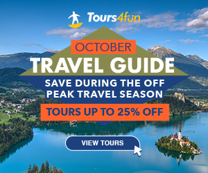 October Travel Guide: Tours up to 20% Off