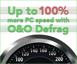 Up to 100% more speed for your PC with O&O Defrag