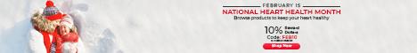 National Heart Health Month   Earn 10% RD