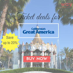 Way.com Promo Code - Great America Amusement Park 20% OFF