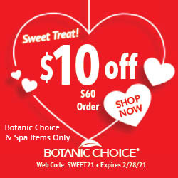 Botanic Choice $10 Off Coupon