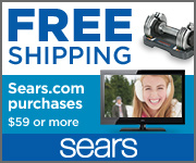 sears free shipping offer