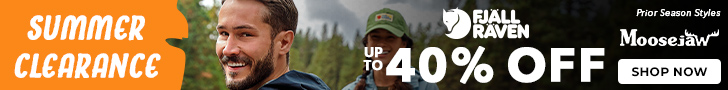 Up to 40% off Fjallraven Summer Clearance. Shop Clothing, Hiking & Camping gear. Ends 9/1