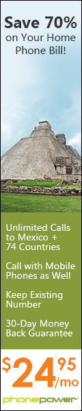 Unlimited International Calling to Mexico, Central America, and 60+ Other Countries only $24.95 a mo