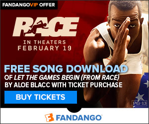 Race GWP - Free Song Download with Ticket Purchase